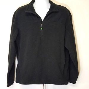 🎉HP🎉 Timberland Fleece Pullover 1/4 Zip L Black